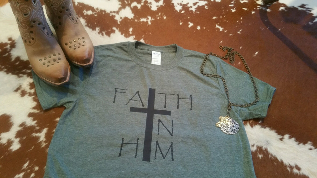 Short Sleeve T-Shirt Faith In Him