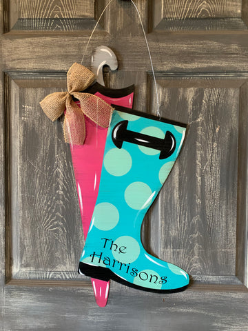 Rainboot 28x18 Door hanger