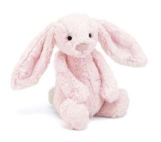 Bashful Bunny - Pink (Medium)