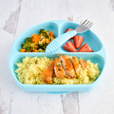 apricot glazed chicken and rice for toddlers