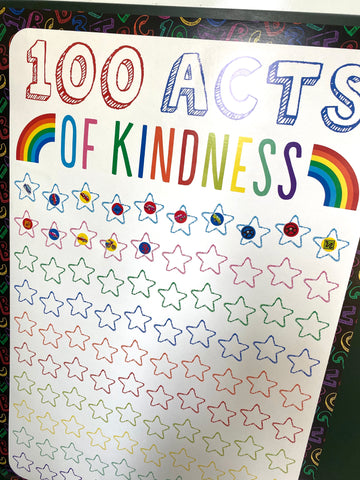 kindness star chart for kids