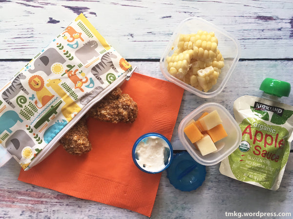 Petit Collage Snack bag Homemade Chicken Nuggets