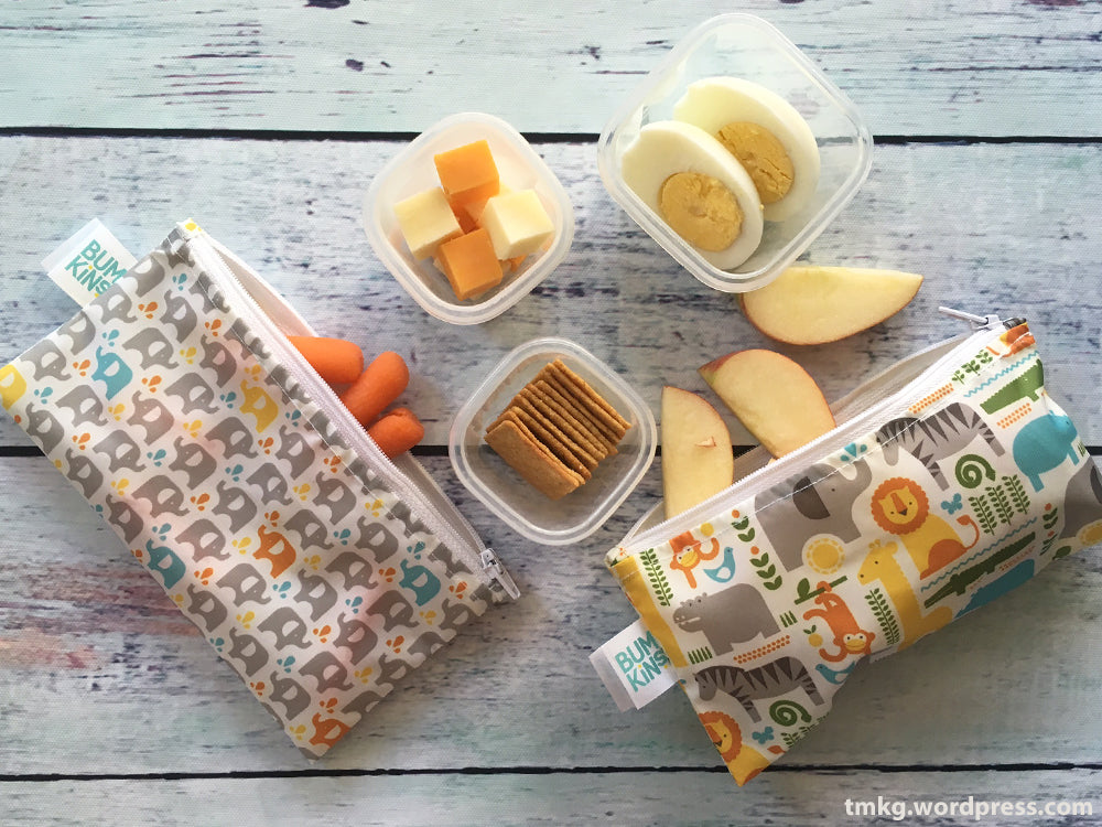 Petit Collage snack bags school lunch prep