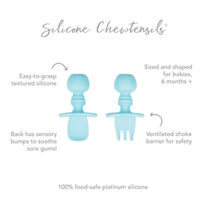 Silicone Chewtensils®: Blue