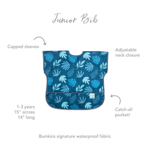 Junior Bib: Blue Tropic