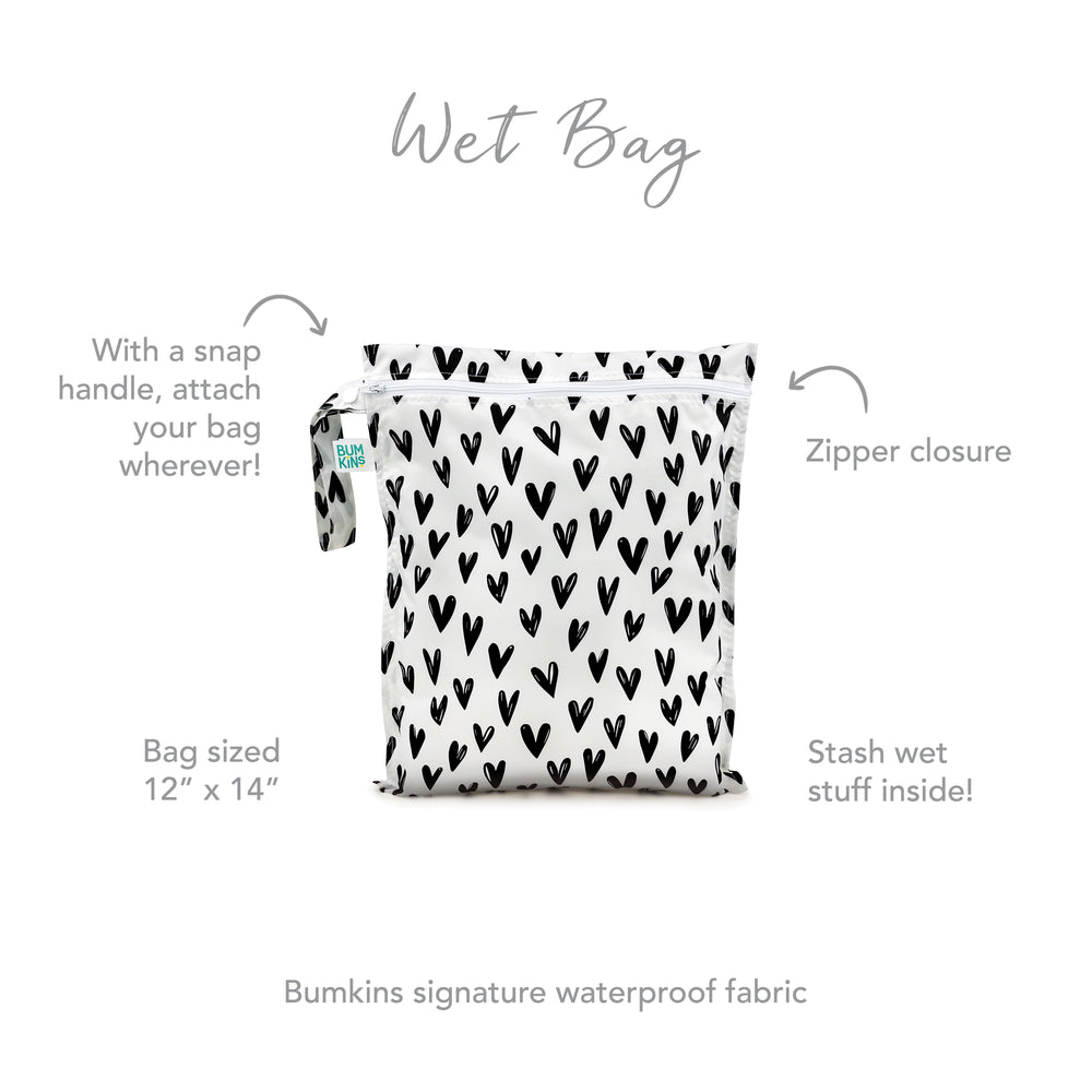 Wet Bag: Hearts