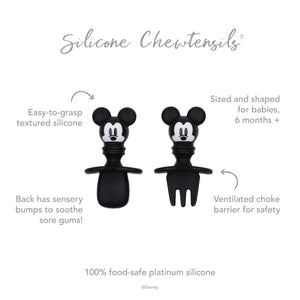 Silicone Chewtensils®: Mickey Mouse