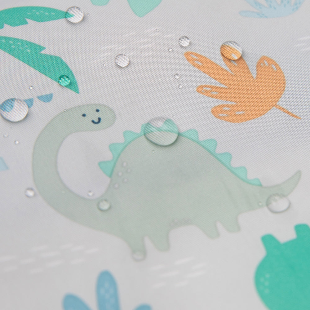 Reusable Snack Bag, Large 2-Pack: Dinosaurs & Blue Tropic