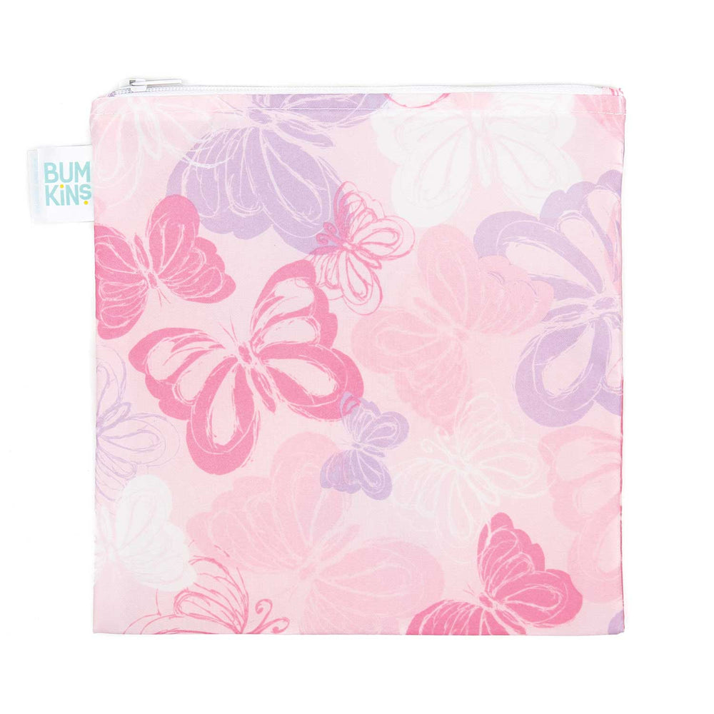 Reusable Snack Bag, Large: Butterfly
