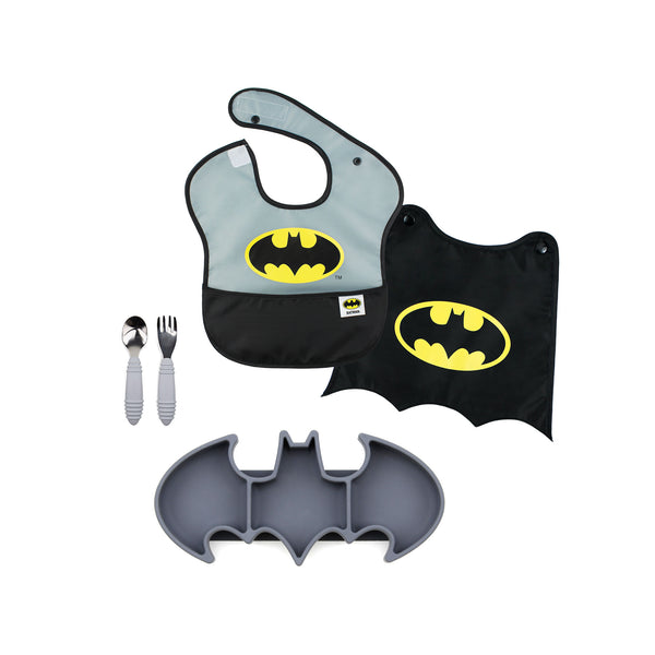 batman baby mealtime gift set