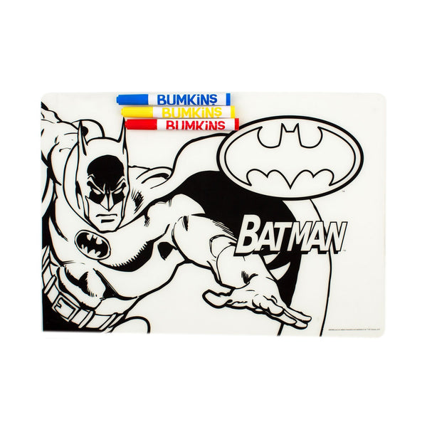 Silicone Coloring Placemat: Batman