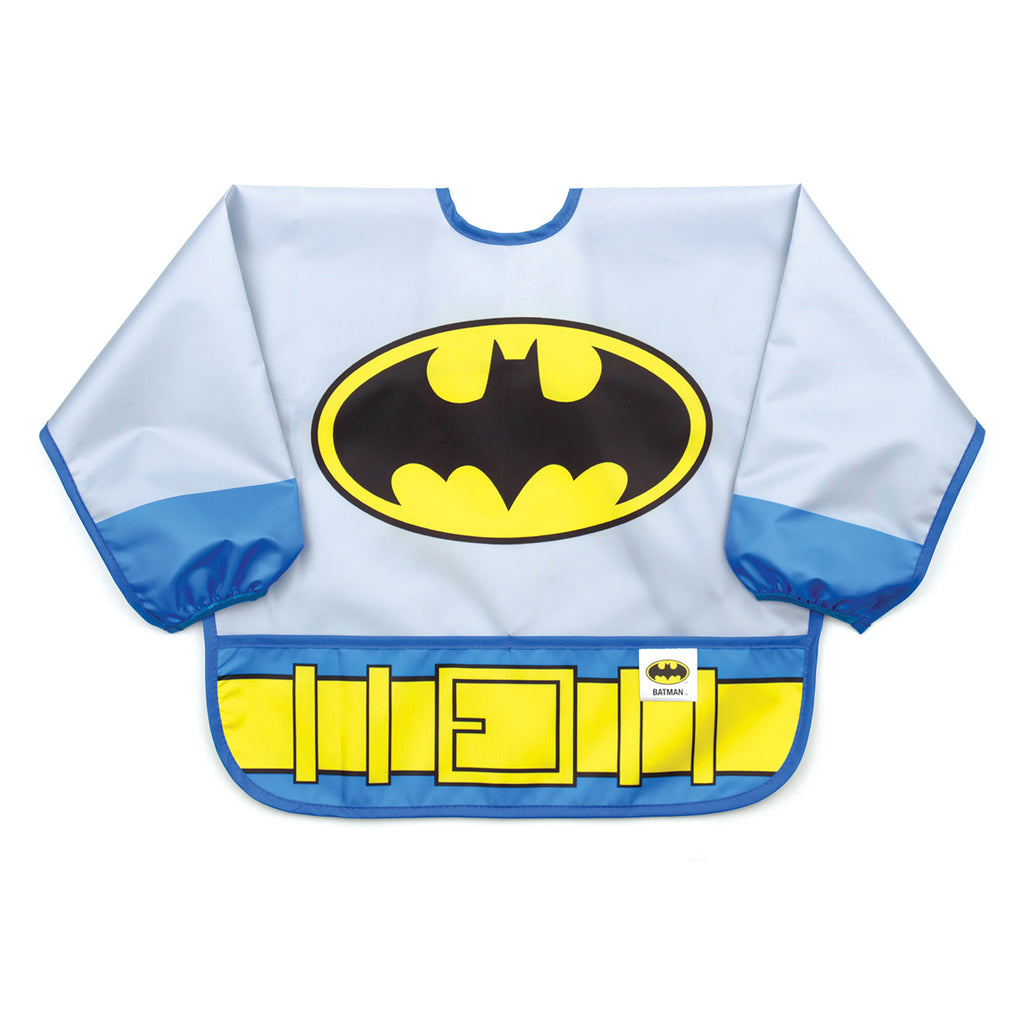 batman costume baby bib