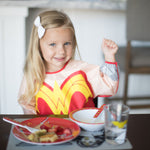 Sleeved Bib: Wonder Woman