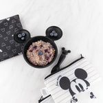 Silicone First Feeding Set: Mickey Mouse Classic Black