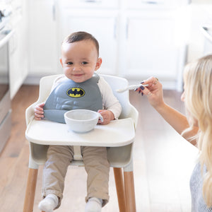Silicone First Feeding Set: Marble