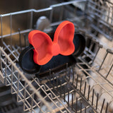 Silicone Grip Dish: Minnie Mouse