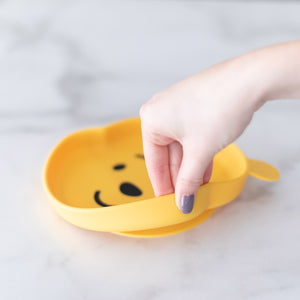 Silicone Grip Dish: Winnie The Pooh