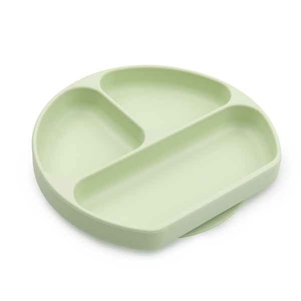 neutral green kids suction plate