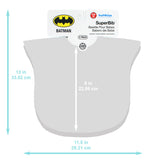 SuperBib® 2 Pack: Batman & Superman