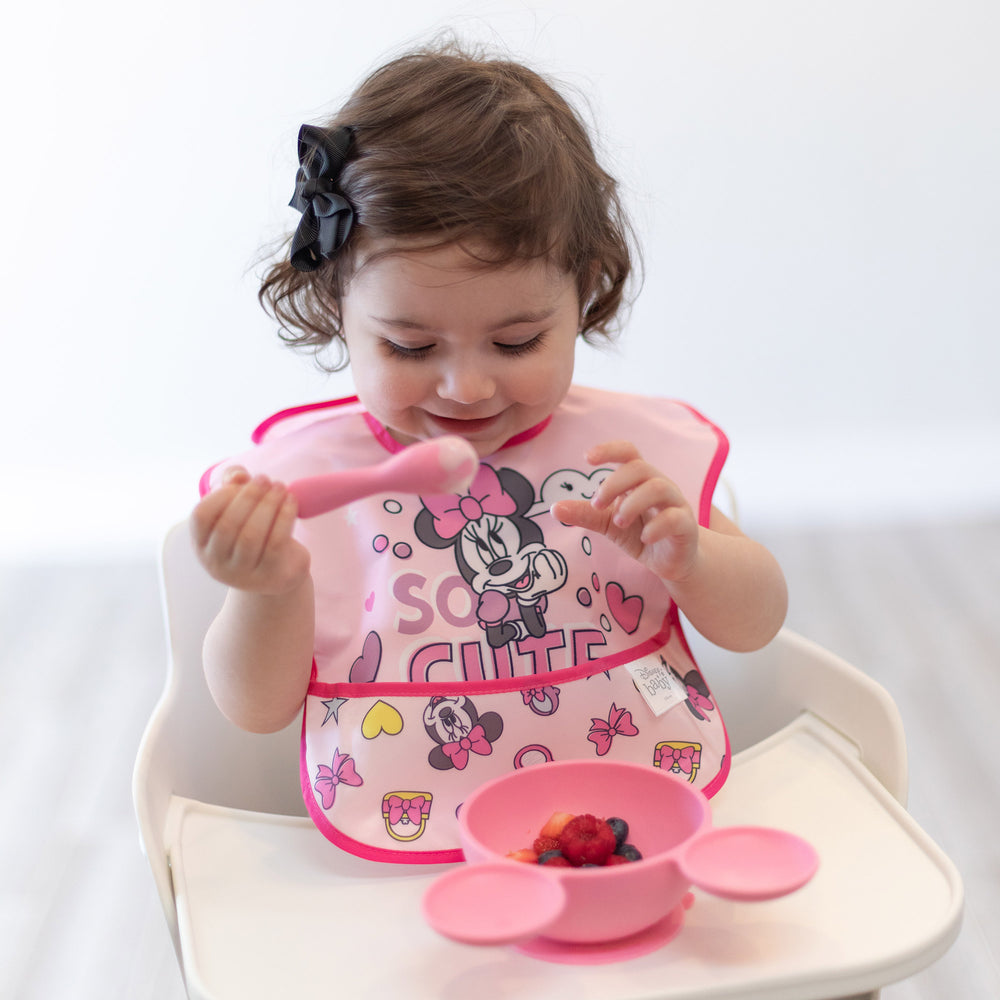 SuperBib® 2 Pack: Minnie Mouse Cute