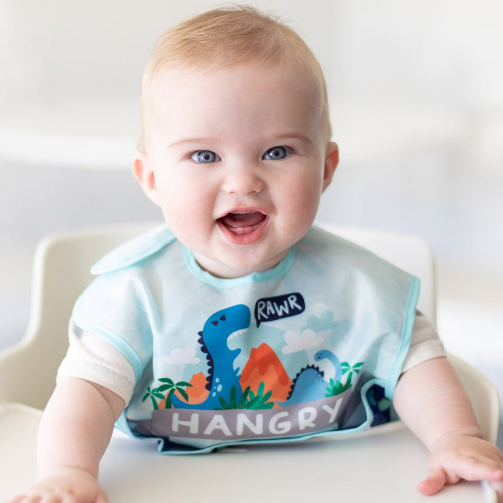 Little Ones Set for Babies from 6 to 24 mos: Dinosaurs & Blue Tropic