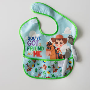 you've got a friend in me baby bib