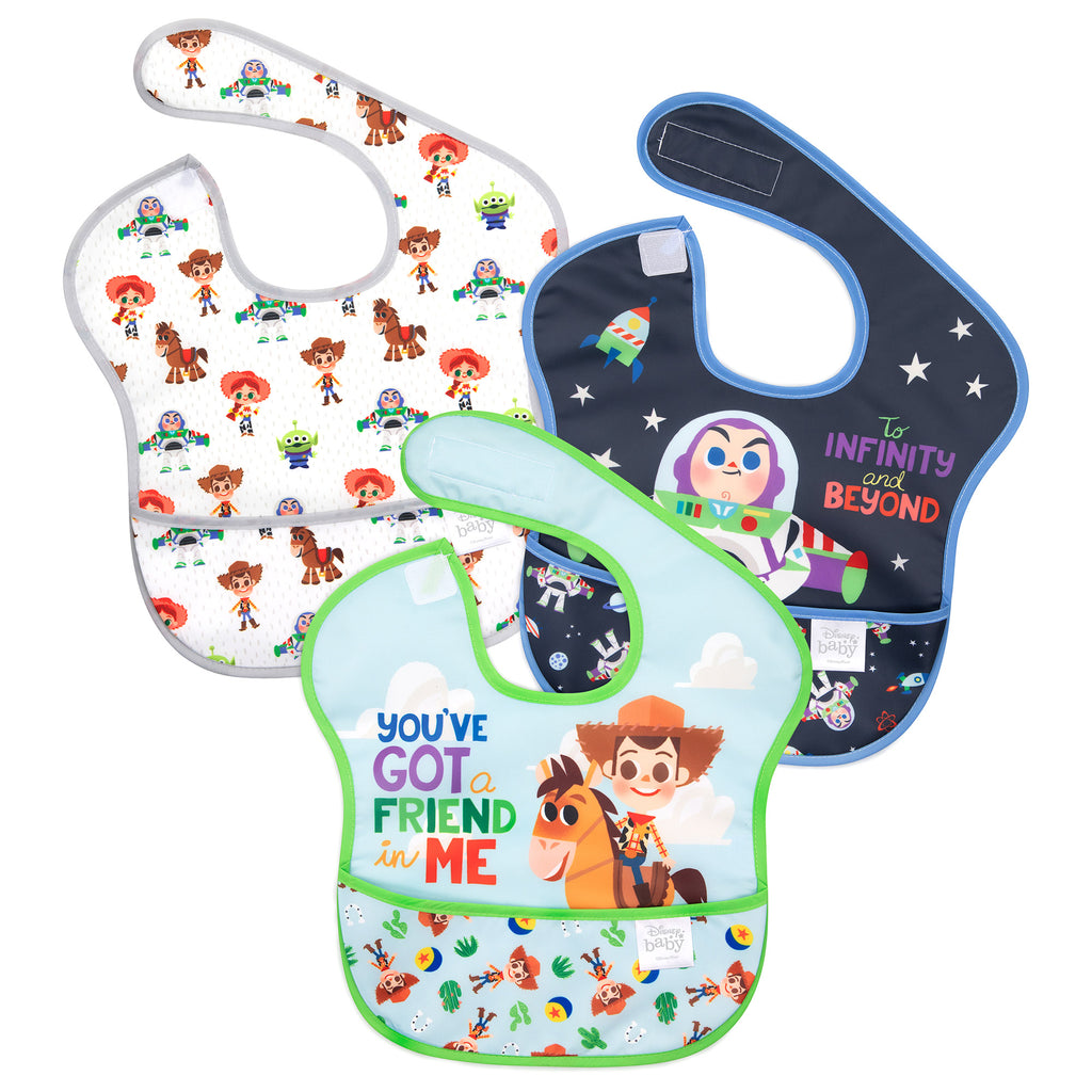 Toy Story baby toddler bibs