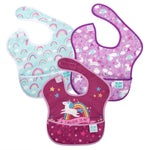 SuperBib® 3 Pack: I Believe In Me, Unicorns, Rainbows