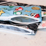 Reusable Snack Bag, Small 2 Pack: Super Mario
