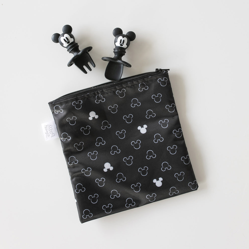 Reusable Snack Bag, 3-Pack: Love, Mickey