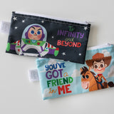 Reusable Snack Bag, 3-Pack: Toy Story