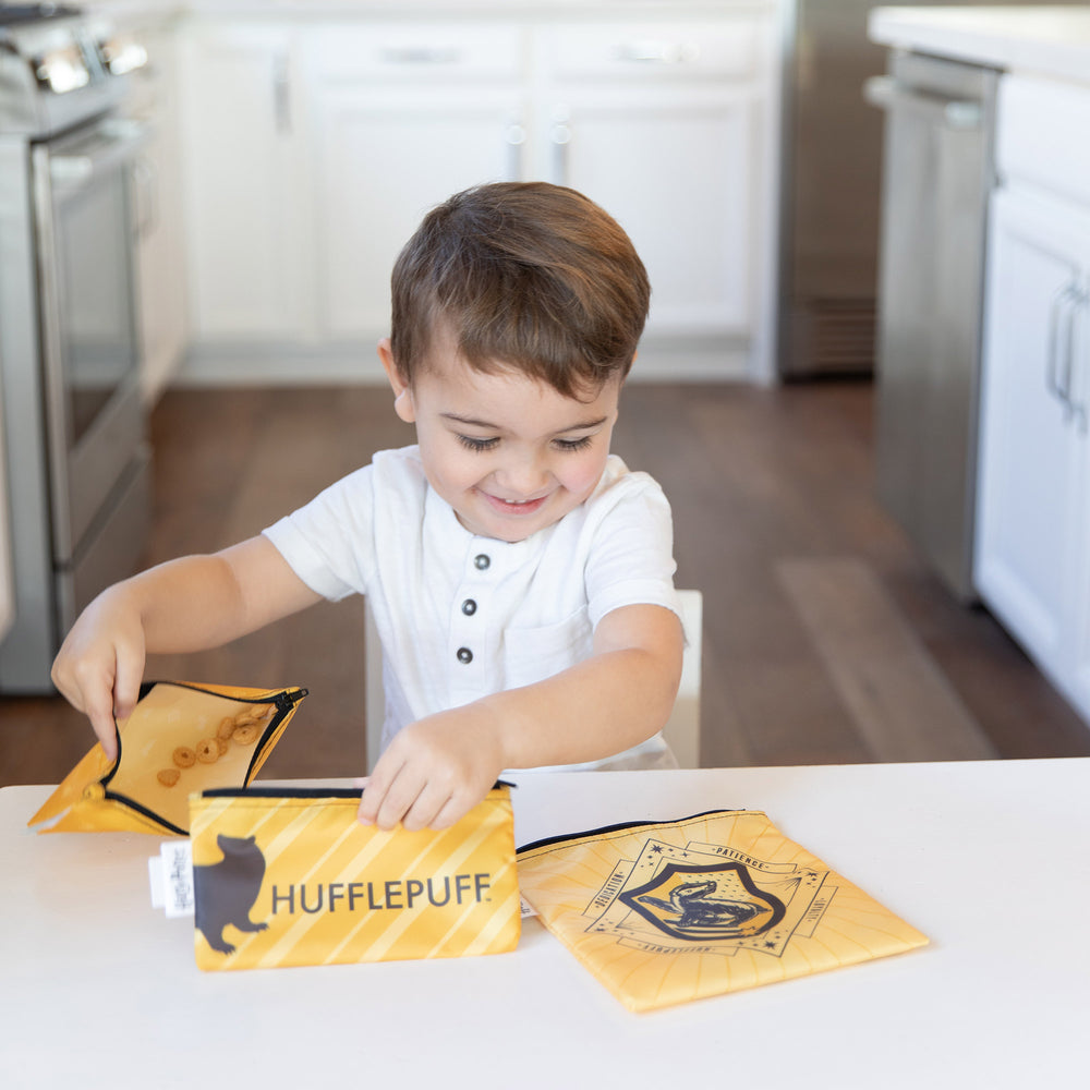 Reusable Snack Bag, 3-Pack: Hufflepuff™