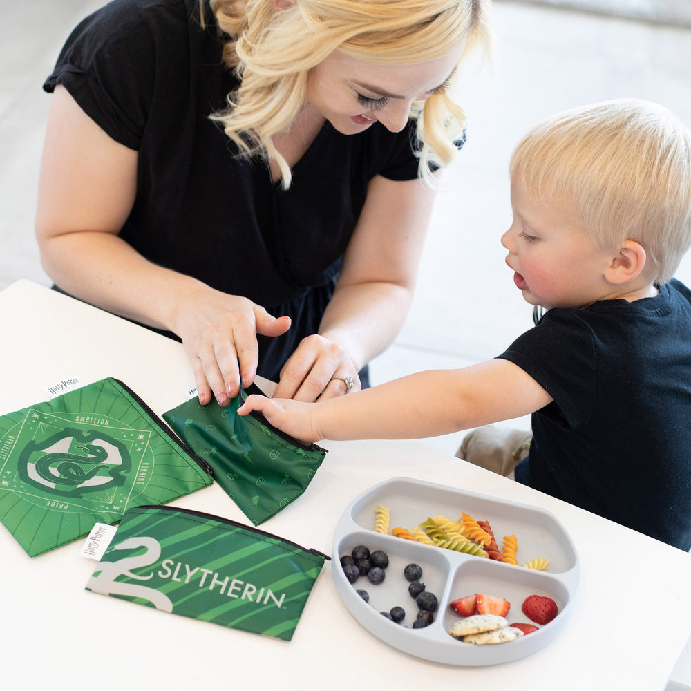 Reusable Snack Bag, 3-Pack: Slytherin™