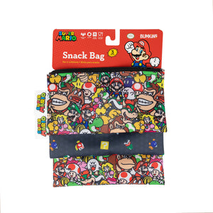 Reusable Snack Bag, 3-Pack: Super Mario™ Power Up