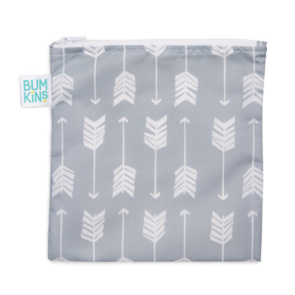 Reusable Snack Bag, Large: Arrow