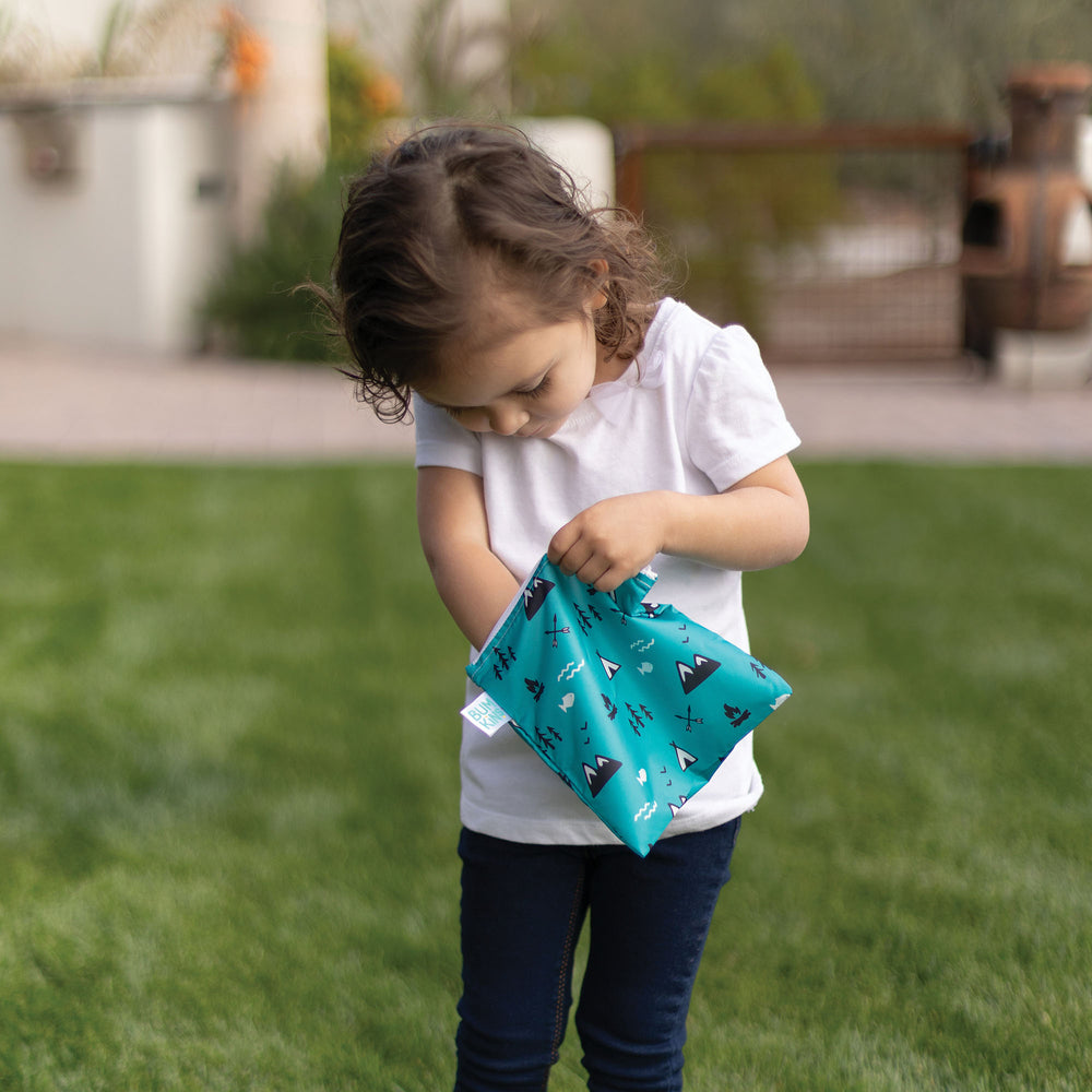 Reusable Snack Bag, Large: Outdoors