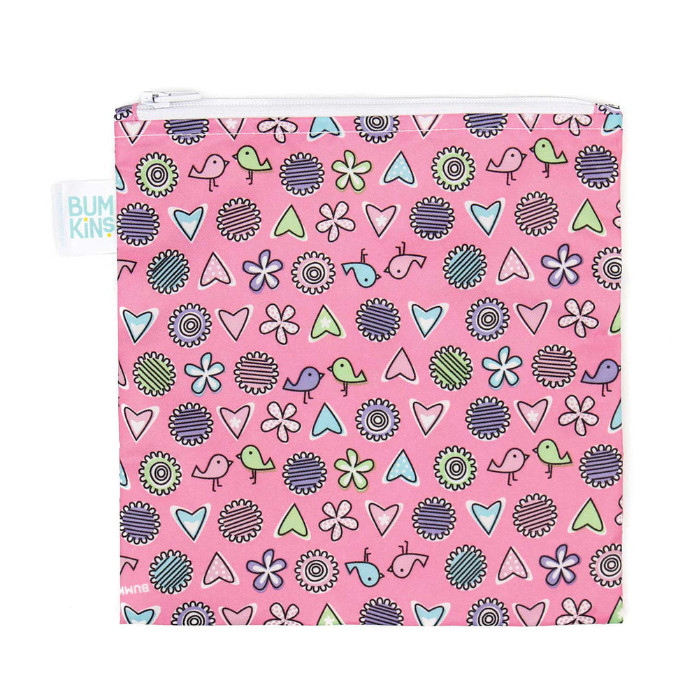 pink reusable sandwich bag