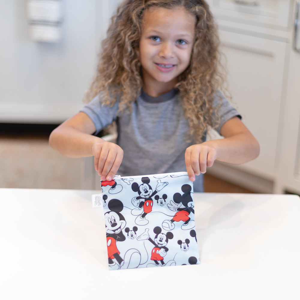 Reusable Snack Bag, Large: Mickey Mouse