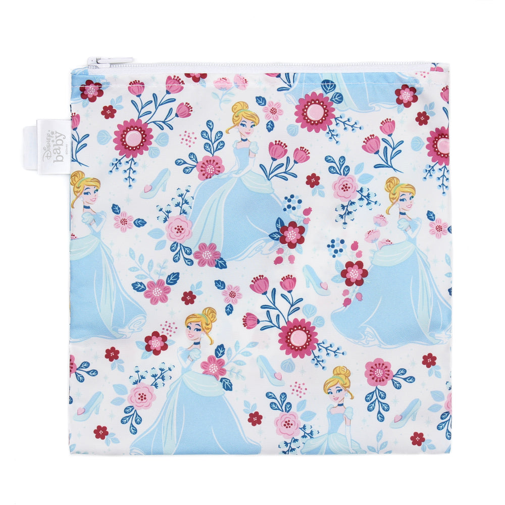 Reusable Snack Bag, Large: Cinderella