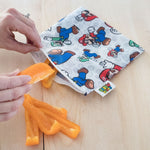 Reusable Snack Bag, Large: Super Mario & Luigi