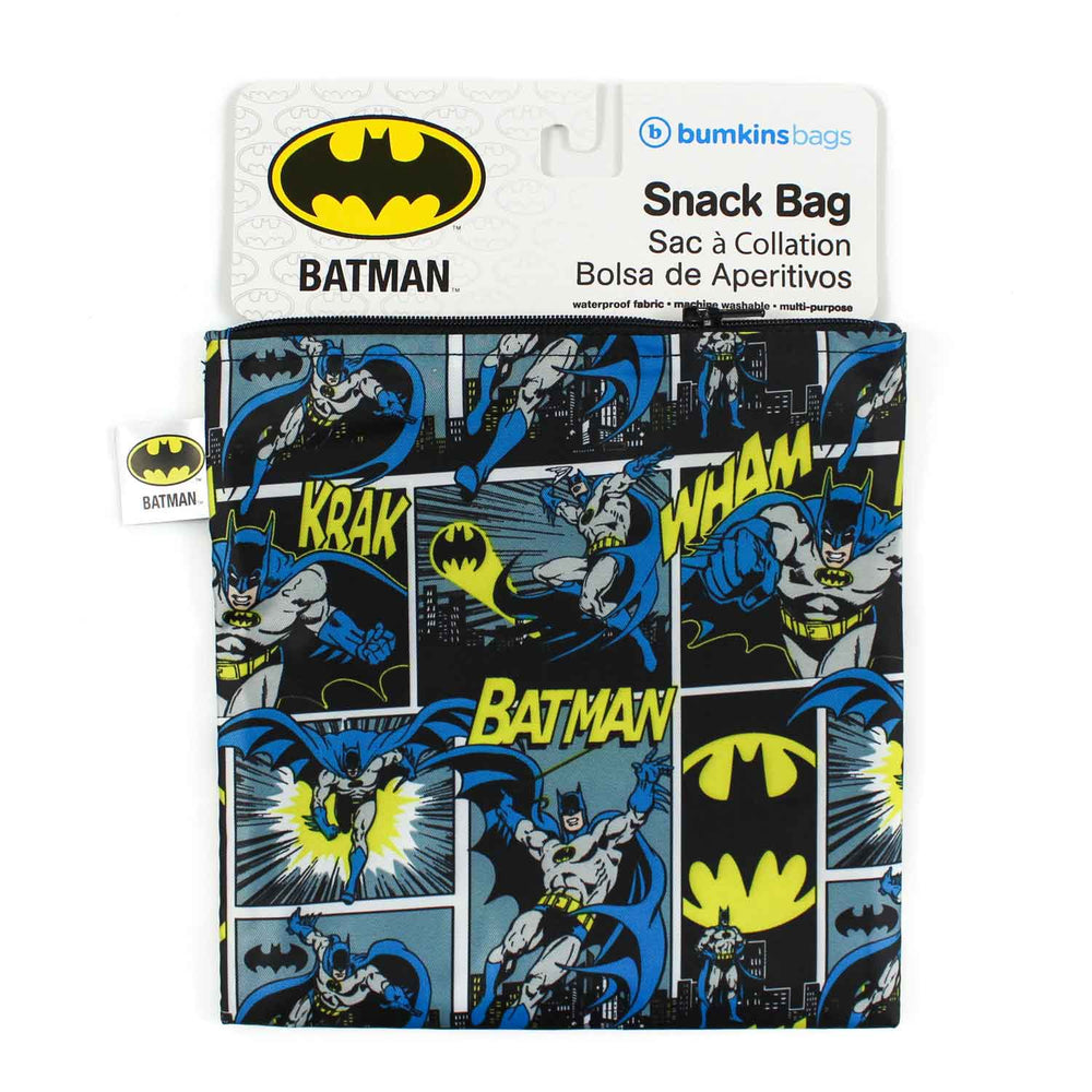 Reusable Snack Bag, Large: Batman