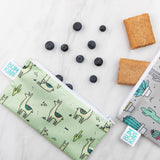 Reusable Snack Bag, Small 2-Pack: Cacti & Llamas