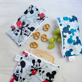Reusable Snack Bag, Small 2-Pack: Mickey Mouse