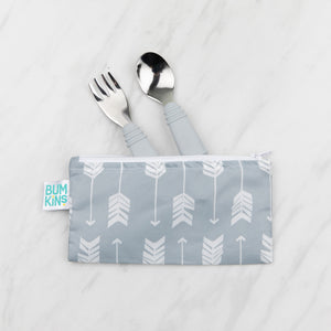 Reusable Snack Bag, Small 2-Pack: Feathers & Arrow