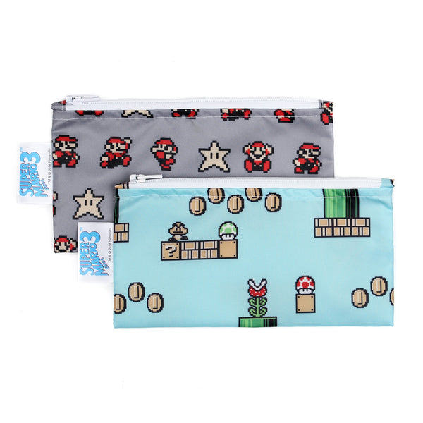 Nintendo Reusable Snack Bag, 2 Pack, Small