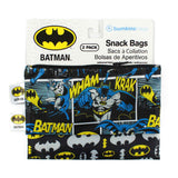 Reusable Snack Bag, Small 2-Pack: Batman