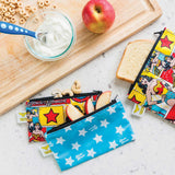 Reusable Snack Bag, Small 2-Pack: Wonder Woman