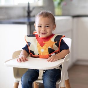 toy story woody sheriff bib