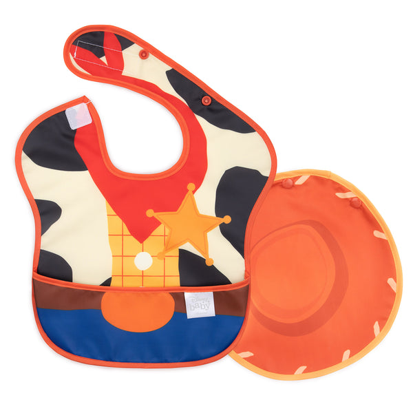 Woody Toy Story baby bib