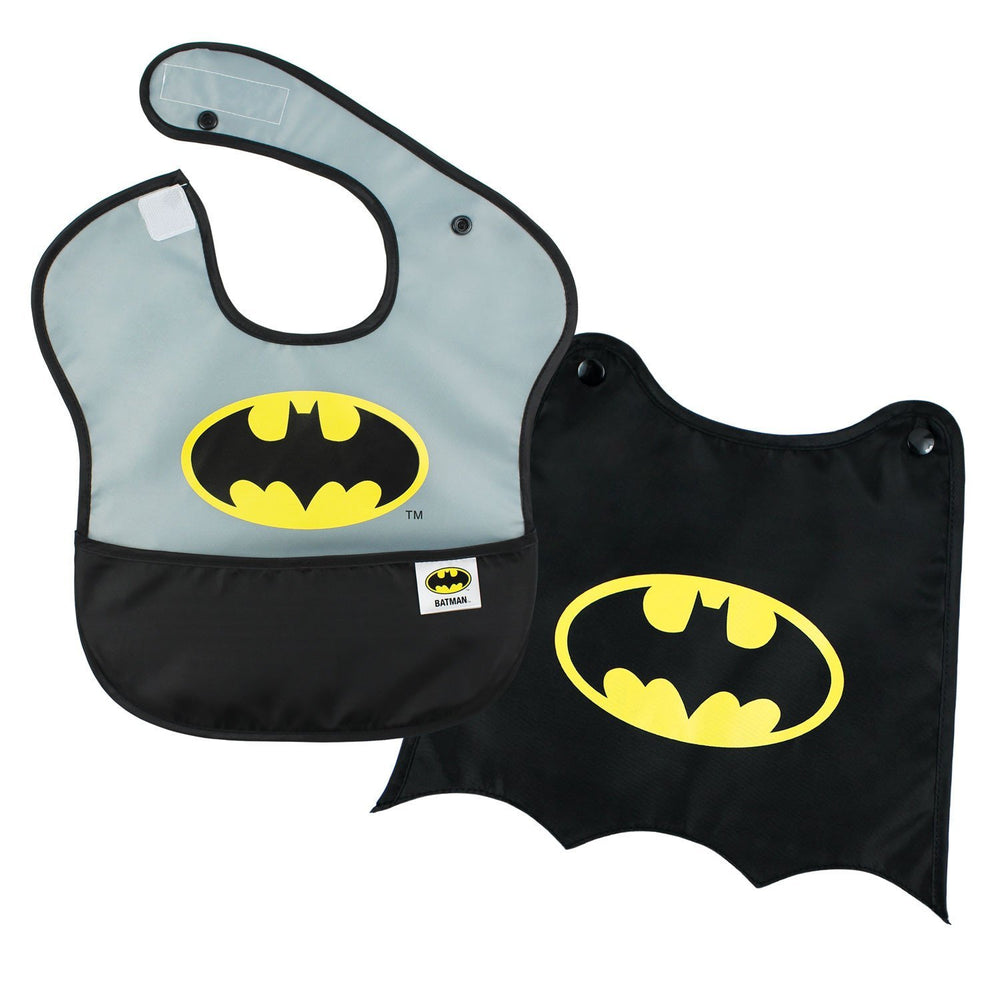 batman baby bib with cape